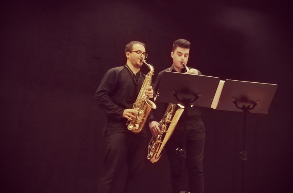 This was the concert of Adrián Pais with Pablo Castaño