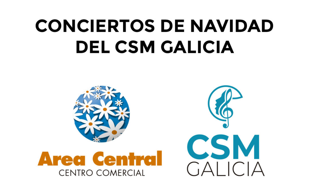 Area Central will host three concerts of different formations of the CSM Galicia